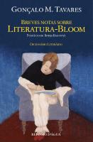 Breves Notas Sobre Literatura-Bloom