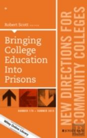 Bringing College Education Into Prisons, Cc 170