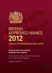 British Approved Names 2012