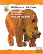 Brown Bear 50th Padded Board Book