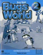 Bugs World 2 - Inglês 1/2 (1º Ciclo) - 2º ano - Busy Book