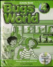 Bugs World 4 - Inglês 3/4 (1º Ciclo) - 4º ano - Activity Book