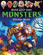 Build Your Own Monsters Sticker Book