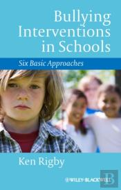 Bullying Interventions In Schools
