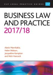 Business Law And Practice 2017/2018