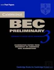 Cambridge Bec Preliminary 3 Self Study Pack