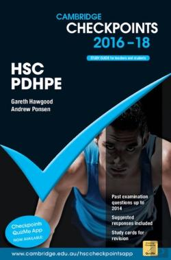 Bertrand.pt - Cambridge Checkpoints Hsc Personal Development, Health And Physical Education 2016-18