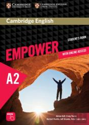 Cambridge English Empower Elementary Student'S Book Pack With Online Access, Academic Skills And Reading Plus