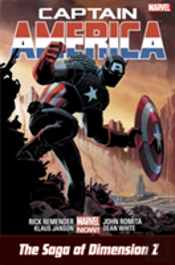 Captain America: The Saga Of Dimension Z