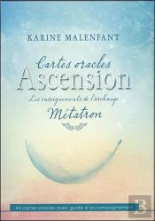 Cartes Oracles Ascension - Les Enseignements De L'Archange Metatron - Coffret