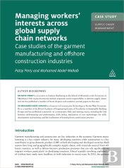 Case Study: Managing Workers' Interests Across Global Supply Chains Networks