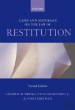 Bertrand.pt - Cases And Materials On The Law Of Restitution