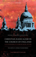 Christian Radicalism In The Church Of England And The Invention Of The British Sixties, 1957-1970