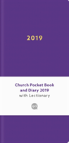Church Pocket Book And Diary 2019