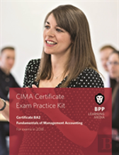 Cima Ba2 Fundamentals Of Management Accounting