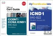 Cisco Ccent/Ccna Icnd1 640-822 Myitcertificationlabs And Official Cert Guide Bundle