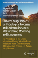 Climate Change Impacts On Sediment Dynamics: Measurement, Modelling And Management
