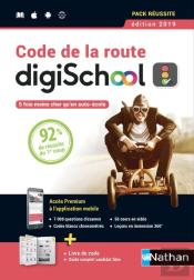 Coffret Code De La Route - (1 Livre + 1 Carte D'Activation) - (Disgischool/Nathan) - 2018
