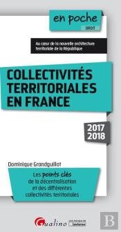 Collectivites Territoriales En France 6eme Edition