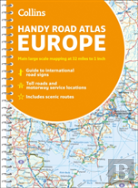 Collins Handy Road Atlas Europe