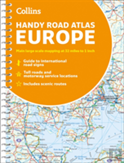 Bertrand.pt - Collins Handy Road Atlas Europe