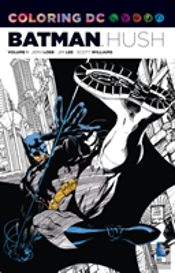 Coloring Dc Tp Vol 01 Batman Hush