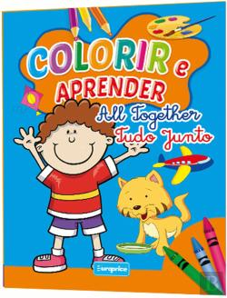 Bertrand.pt - Colorir e Aprender - All Together/ Tudo Junto