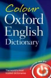 Colour Oxford English Dictionary