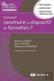 Comment Construire Un Dispositif De Formation