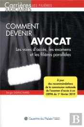 Comment Devenir Avocat, 13eme Edition