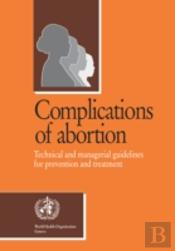 Complications Of Abortion