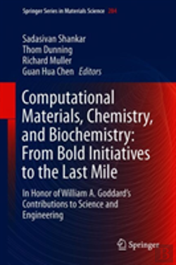 Bertrand.pt - Computational Materials, Chemistry, And Biochemistry: From Bold Initiatives To The Last Mile