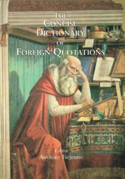Bertrand.pt - Concise Dictionary Of Foreign Quotations
