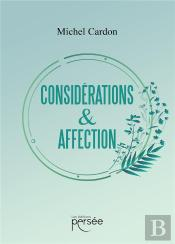 Considerations & Affection