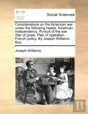 Considerations On The American War, Unde