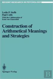 Construction Of Arithmetical Meanings And Strategies
