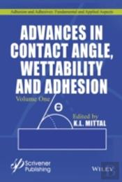 Contact Angle, Wettability And Adhesion