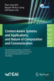 Context-Aware Systems And Applications, And Nature Of Computation And Communication