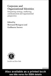 Corporate And Organizational Identities