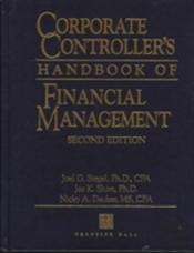 Corporate Controllers Handbook Of Financial Management