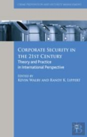 Corporate Security In The 21st Century