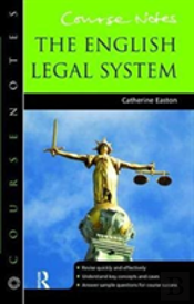 Course Notes: The English Legal System