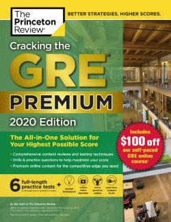 Bertrand.pt - Cracking the GRE Premium Edition with 6 Practice Tests