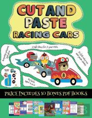 Craft Ideas For 5 Year Olds (Cut And Paste - Racing Cars)