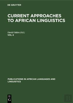 Bertrand.pt - Current Approaches To African Linguistics. Vol 4