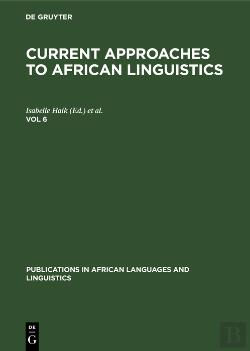 Bertrand.pt - Current Approaches To African Linguistics. Vol 6
