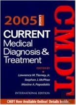 Current Medical Diagnosis & Treatment - 2005