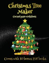 Cut And Paste Worksheets (Christmas Tree Maker)
