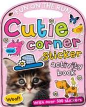 Cutie Corner Sticker Activity Book