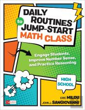 Daily Routines To Jump-Start Math Class, Grades 9-12